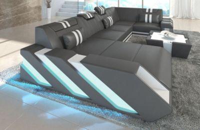 Sofa Dreams Wohnlandschaft Apollonia U Form