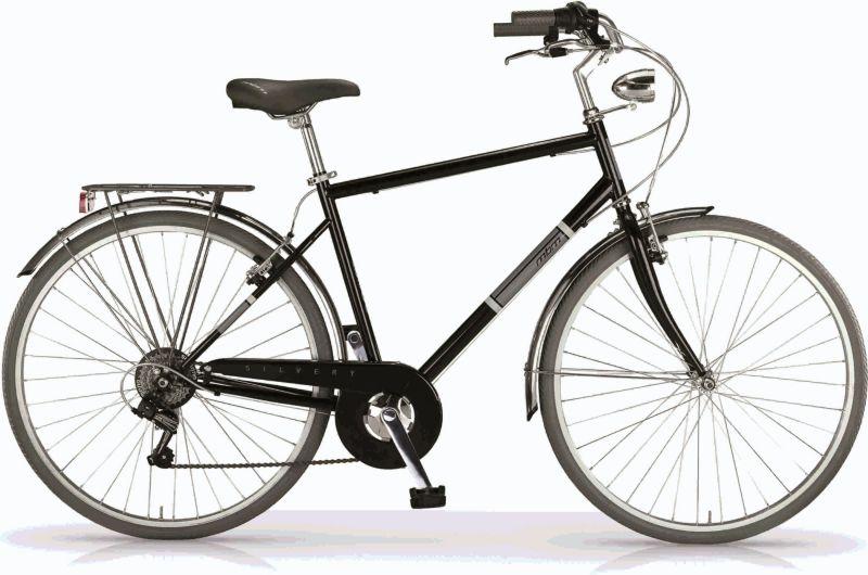 MBM Trekkingbike 28 Zoll ´´ Silvery´´ Man Schwarz