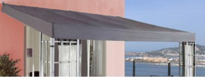 Ersatzdach Anbaupergola Alu Optik 3x4m Anthrazit