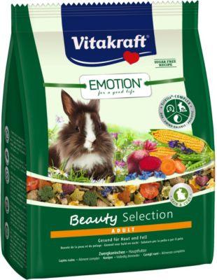 Vitakraft Emotion Beauty Adult, Zwergkaninchen - 1,5kg