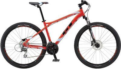 27.5 Zoll GT Aggressor Expert Neon Rot Mountainbike MTB XL