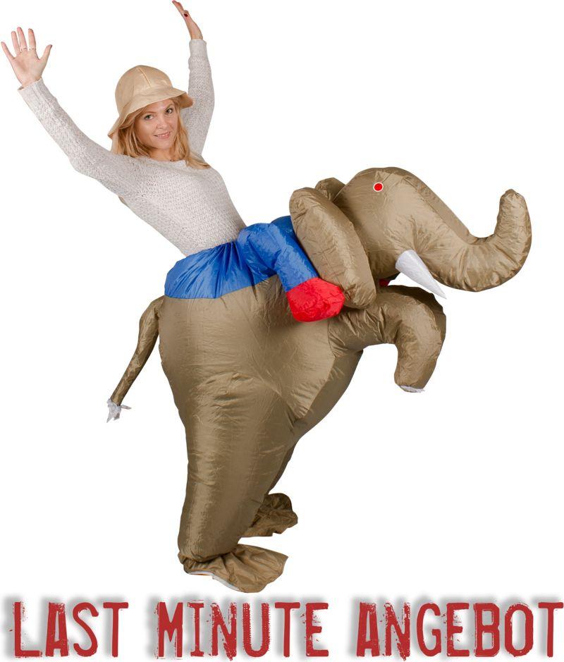 GARDENho.me Aufblasbares Kostüm Elefant Dumbo R...