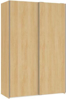 2trg Kleiderschrank Express Schlafzimmer Schrank Schwebetürenschrank Ahorn Optik