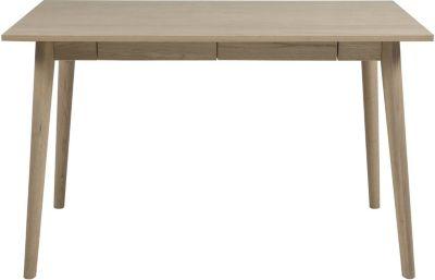 PKline Schreibtisch Computertisch Arbeitstisch Tisch Massiv/Eiche