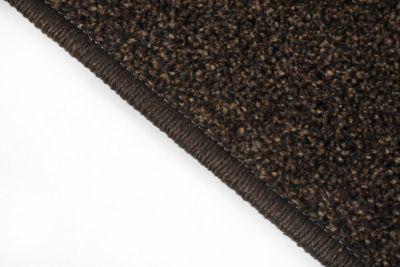 Velours Teppich Läufer Athen braun 67 x 250 cm