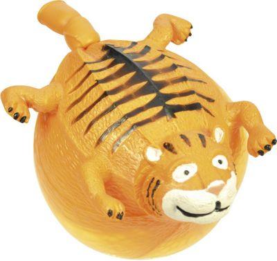 EDUPLAY 130052-TI Tier-Luftballon, wieder aufblasbar, Tiger, orange (1 Stück)