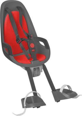 Hamax 553025 Kindersitz Caress Observer, Befestigung vorne, rot/grau (1 Stück)