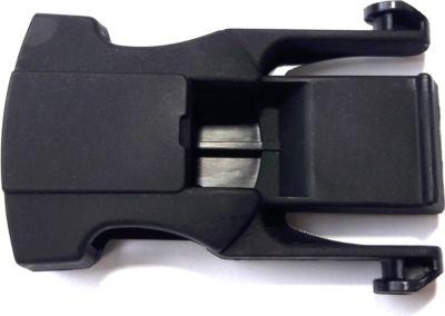 Hamax 603068 Gurtverschluss für Mod. Sleepy und Kiss, schwarz (1 Stück)
