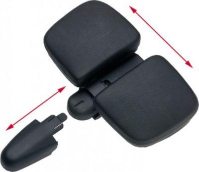 Sattel Endzone Vario Comfort, Unisex, ca. 835g, schwarz (1 Stück)