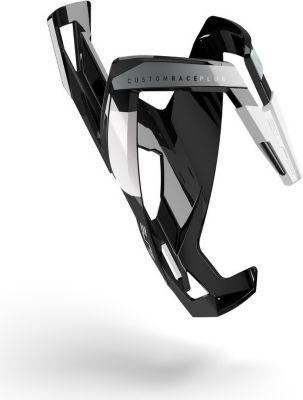 Elite 0140602 Trinkflaschenhalter CustomRacePlus, schwarz/weiß (1 Stück)