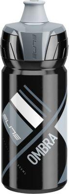 Elite 0150114 Trinkflasche ´´Ombra´´, 550 ml, schwarz/grau (1 Stück)