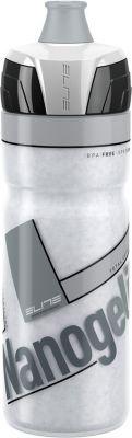 Elite 0141108 Thermaltrinkflasche Nanog500 ml, weiß/grau (1 Stück)