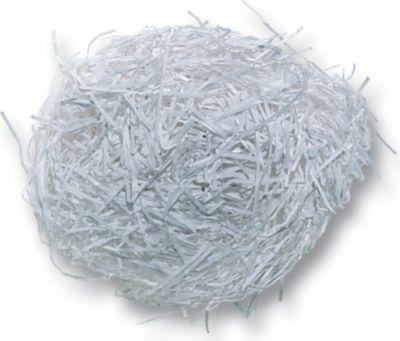 folia 603000 Dekogras aus Papier, Ostergras, weiß (30 g)