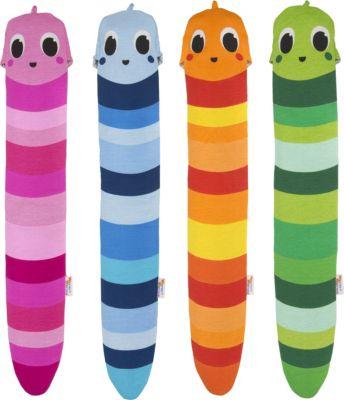 YuYu Bottle Warm Worm kuschlige Wärmflasche für Kinder in versch. Farben Farbe: Blau