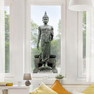Fensterfolie - Fenstersticker - Buddha... 49cm x 20cm