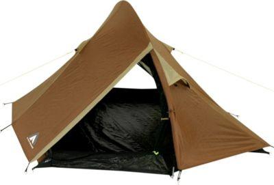 10T Camping-Zelt Little Bighorn 2 Kuppelzelt mit Schlafkabine für 2 Person Outdoor Trekkingzelt mit