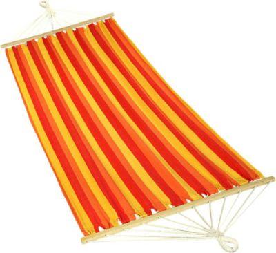 10T Almandin Single Plus - Stab-Hängematte aus Baumwolle 230 x 130 cm, inkl. Befestigungsset