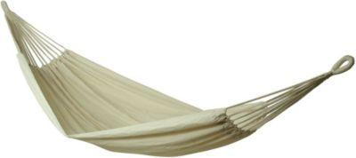 10T Relax Double - Doppel Tuch-Hängematte Baumwolle natur Liegefläche 180x145cm