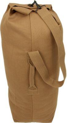 10T TLC Duffle M Bag 50L Seesack 80x25x25cm robuste Reisetasche mit Schultergurt Canvas Rucksack Lei