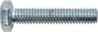 Sechskantschraube DIN 933 M10 x 90 mm Stahl verzinkt Güte 8.8 SW17 25 Stück