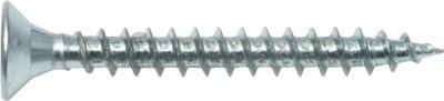 Spanplattenschraube Vollgewinde Senkkopf 3,5 x 30 mm Stahl verzinkt PZ2 1.000 Stück