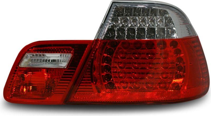 JOM Rückleuchten, LED, klar / rot (4-teilig) BM...
