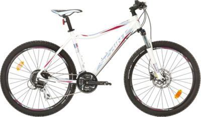 26 Zoll Damen Mountainbike 24 Gang Sprint Apolon weiß-blau, 48cm
