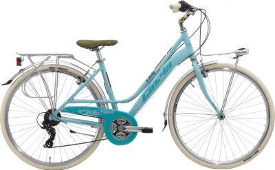 28 Zoll Damen City Fahrrad 21 Gang Cinzia... blau