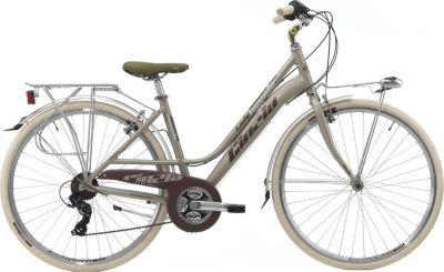 28 Zoll Damen City Fahrrad 21 Gang Cinzia... gold