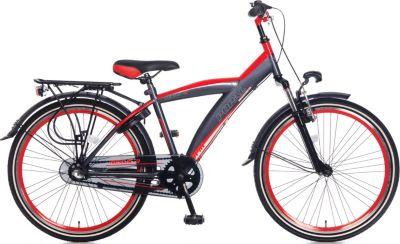 24 Zoll Popal Kicks 2414 Jungen Fahrrad 3... rot