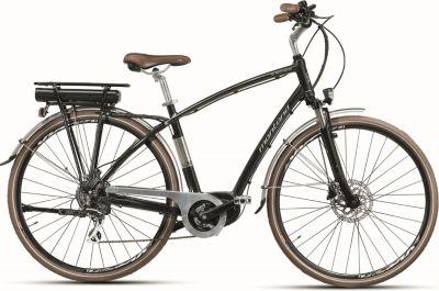 28 Zoll Montana E-Lunapiena Herren E-Bike Trekking Fahrrad 8 Gang schwarz, 49cm