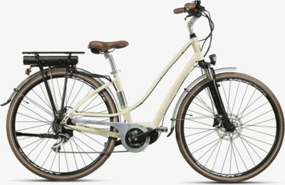 28 Zoll Montana E-Lunapiena Damen E-Bike Trekking Fahrrad 8... creme, 48cm