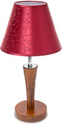 relaxdays Tischlampe Holz