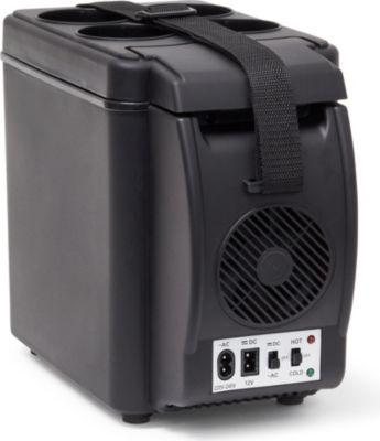relaxdays Kühlbox elektrisch 6l mit Getränkehalter