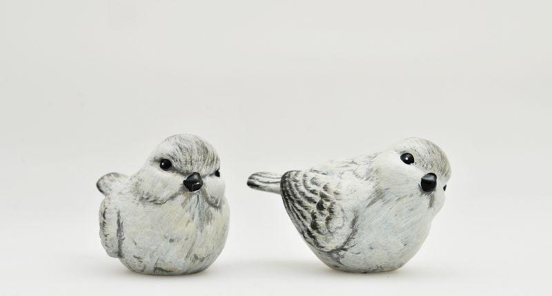 HTI-Living Vogel Spatzen 2-er Set
