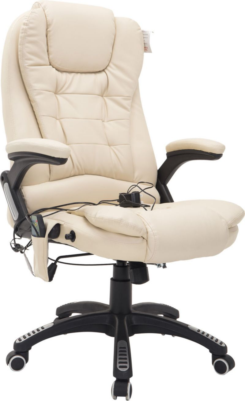 HOMCOM Bürosessel mit Massage- und Wärmefunktion