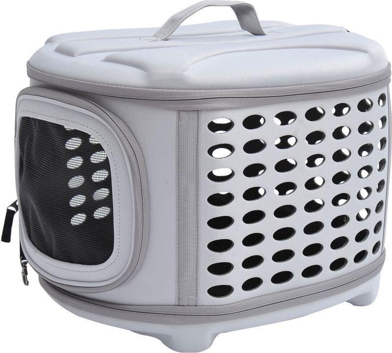 PawHut Transportbox für Hunde und Katzen