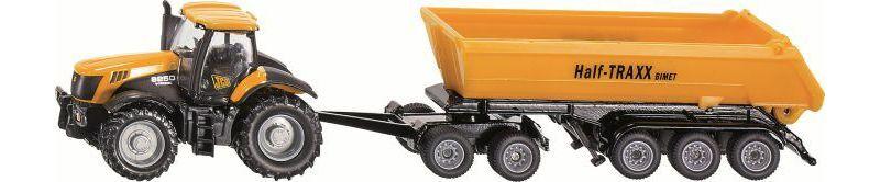 siku 1858 JCB Traktor mit Dolly 1:87