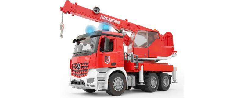 bruder MB Arocs Feuerwehr Kran