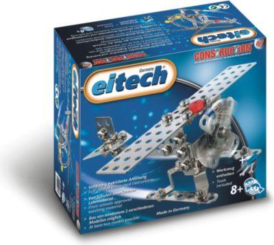 eitech Metallbaukasten Flugzeug/Helikopter