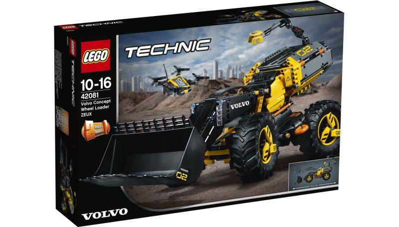 LEGO® Technic 42081 VOLVO Konzeptradlader ZEUX,...