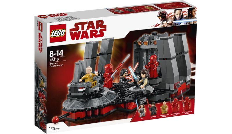 LEGO® Star Wars# 75216 Snokes Thronsaal, 492 Teile