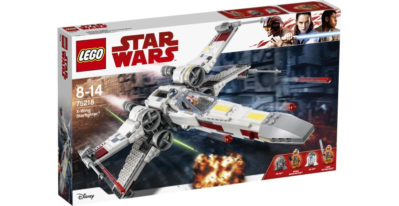LEGO® Star Wars# 75218 X-Wing Starfighter, 731 ...