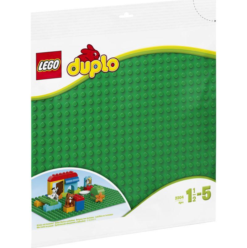 LEGO® DUPLO® 2304 Große Bauplatte, grün,