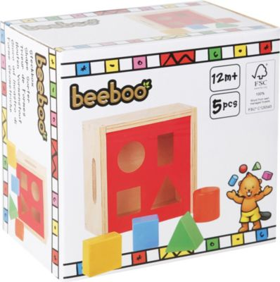 beeboo Steckbox, 6-teilig