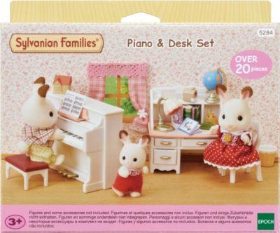 Sylvanian Families® Sylvanian Families 5284 Piano & Schreibtisch-Set