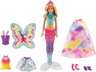 Mattel Barbie FJD08 Dreamtopia Regenbogen Königreich 3in1