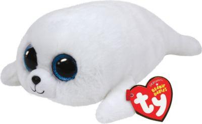 Ty Icy Buddy-Robbe weiss, ca. 24 cm