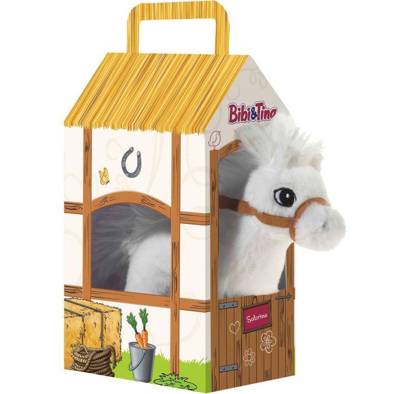 Heunec BIBI & TINA Pferd Sabrina stehend im Stall