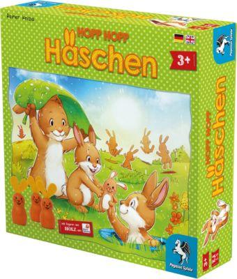 Pegasus Spiele Hopp Hopp Häschen